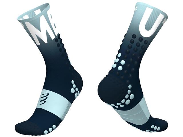 Compressport Pro Racing V3.0 Ultra Trail Calcetines UTMB 2020, blue